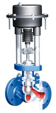 STEVI Vario – the new, variable, compact control valve!